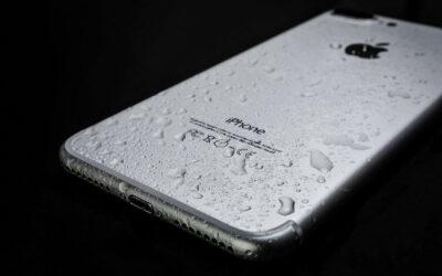 iPhone mojado: reparación urgente en Madrid.