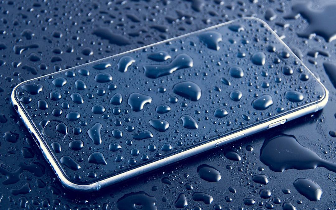 Cómo reparar tu iPhone mojado