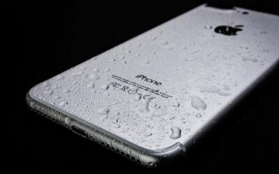 iPhone X mojado ¿qué hacer?